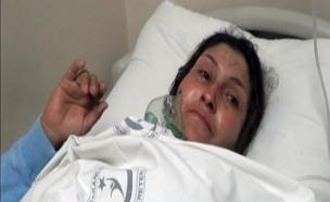פצועים מהמתקפה הכימית בסוריה (צילום: חדשות 2)