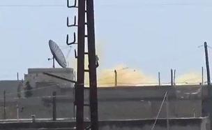 תקיפה כימית נוספת בסוריה (צילום: חדשות 2)