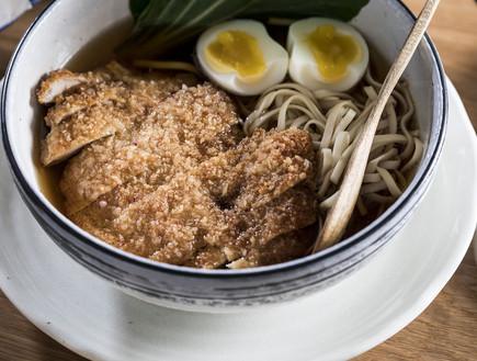 אוקינאווה - קטצ'ו אודון עוף
