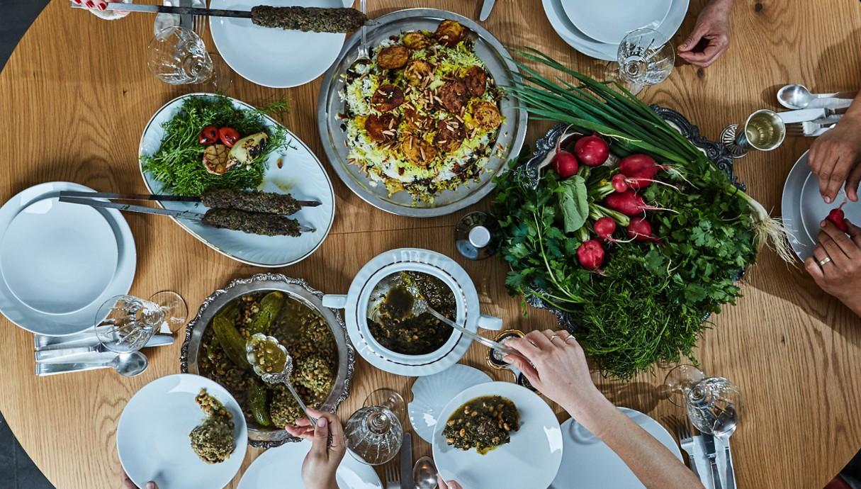 ארוחה פרסית לפסח