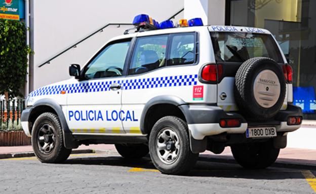 משטרה במדריד. ארכיון (צילום: 123 RF)
