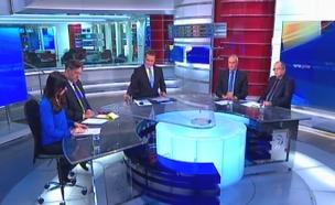 פאנל הפרשנים: תקיפה בסוריה (צילום: חדשות 2)