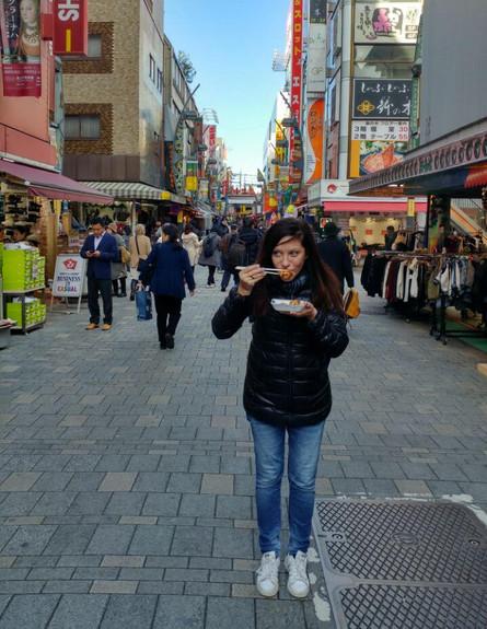 שוק ueno בטוקיו (צילום: תומר הורוביץ, אוכל טוב)