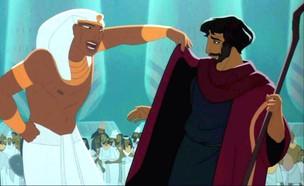משה הוא פרעה (צילום: דרימוורקס | צילום מסך)