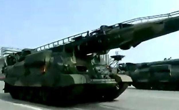 """הטיל החדש המבוסס על """"נודונג"""""""