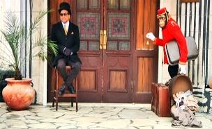 המלון הכי יקר בשטחים של האמן המסתורי (צילום: חדשות 2)