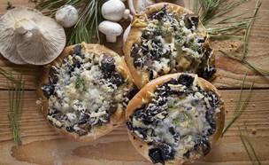 מאפה פטריות (צילום: אפיק גבאי, אוכל טוב)