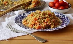 פילאפ קינואה גזר ופטרוזיליה (צילום: נטע-חן ליבנה, אוכל טוב)