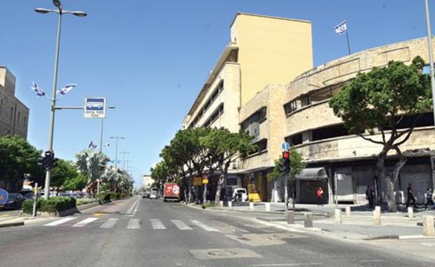 רחוב העצמאות בחיפה (צילום: איל יצהר, גלובס)