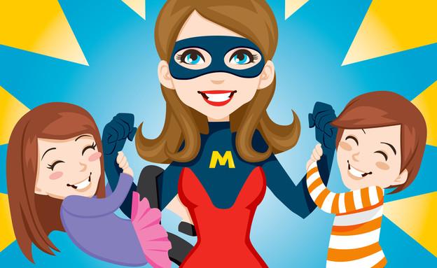 אמא סופרמן (צילום: Shutterstock)