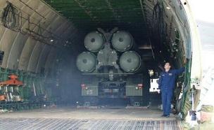 תגן על מטוסי אסד? סוללת S-400 (צילום: RIA novosty)