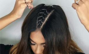 שיער מחוך (צילום: צילום מסך, אינסטגרם)
