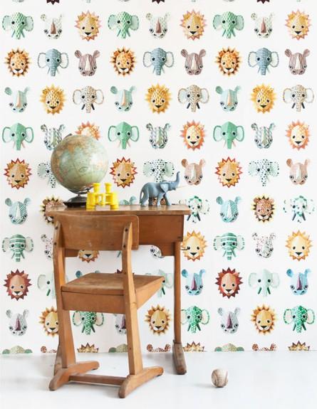 טפט מושלם לחדר הילדים של STUDIO DITTE ההולנדים