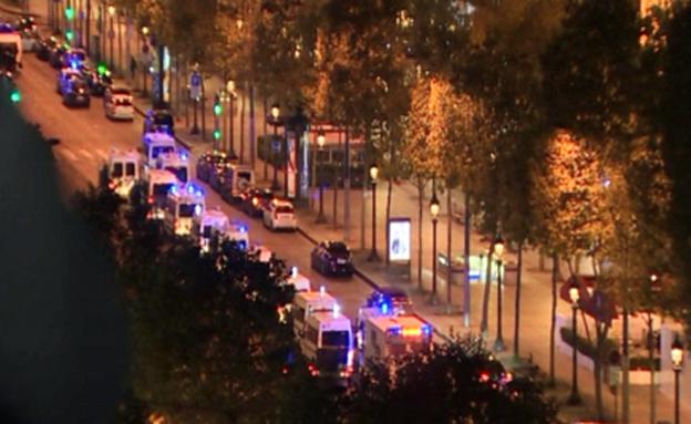 מתחם השאנז אליזה פונה (צילום: CNN)