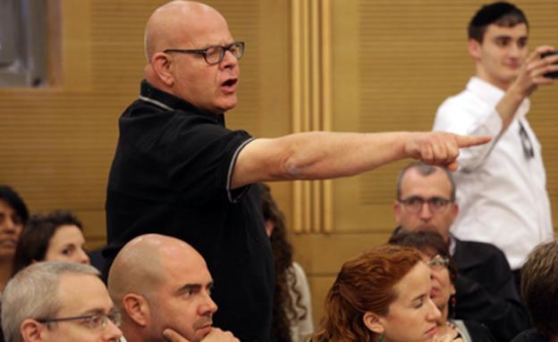 שגיא במהלך הדיון בכנסת (צילום: הלל מאיר/TPS)