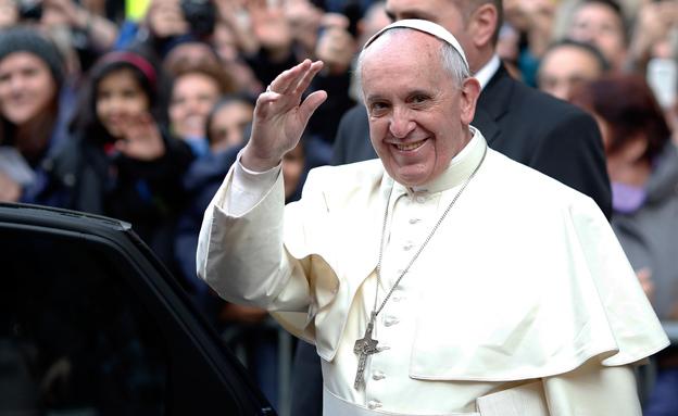 האפיפיור באמירה שנויה במחלוקת (צילום: רויטרס)