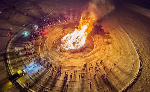 מדורה חילונית (צילום: Arctic-Images, GettyImages IL)
