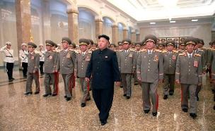 איום עוכר שלווה. קוריאה הצפונית (צילום: רויטרס)