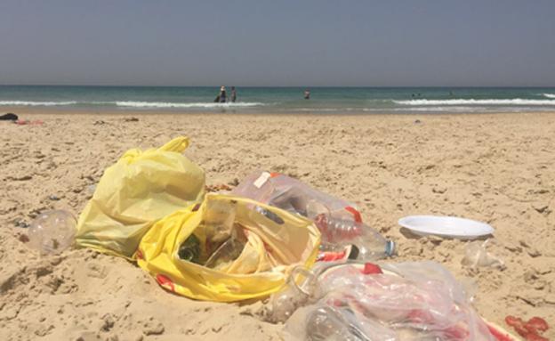 """מדד """"חוף נקי"""": מיהן הרשויות הנקיות? (צילום: חדשות 2)"""