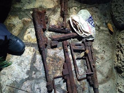 האקדח הישן שהתגלה בשיפוץ