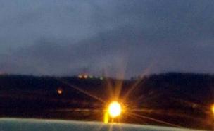 שיגור טיל פטריוט מסוריה לכיוון ישראל (צילום: חדשות 2)
