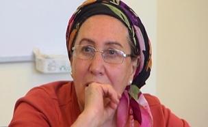 הרבנית חנה הנקין תדליק משואה (צילום: חדשות 2)