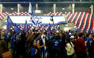 טה המחנה הציוני בבחירות 2015 (צילום: לי נעים)