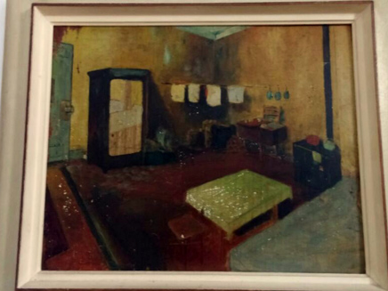 חדר המסתור, כפי שצייר אחיו של יששכר