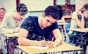 מתמטיקה מבחן (צילום: Shutterstock, מעריב לנוער)