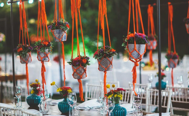 חתונות15, מתלי מקרמה לעציצים (צילום: יחסי ציבור)