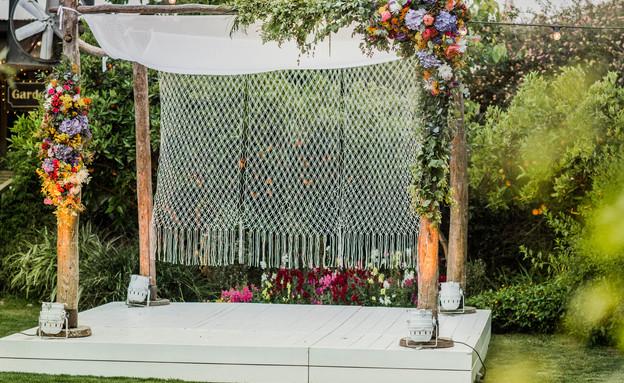 חתונות16, חופת מקרמה (צילום: יחסי ציבור)