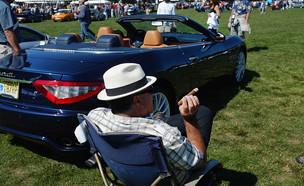 תערוכת מכוניות יוקרה בקונטיקט (צילום: Spencer Platt, GettyImages IL)