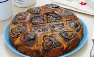 עוגת שמרים פרג ושוקולד לבן (צילום: נטלי לוין, אוכל טוב)