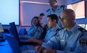 יחידת הסייבר במשטרה. ארכיון (צילום: חטיבת דובר המשטרה)