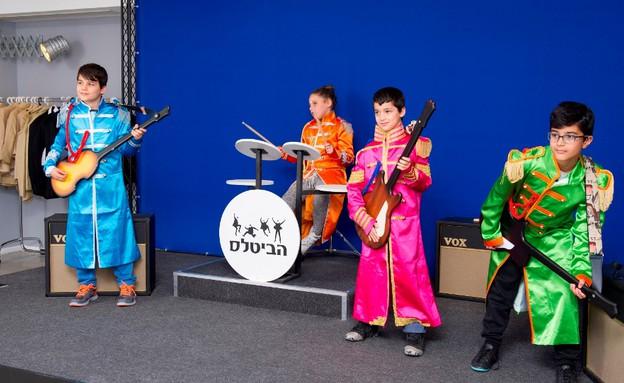הביטלס מגיעים למוזיאון הילדים בחולון. צפו (צילום: מושי גיטליס)