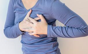 התקף לב (אילוסטרציה: Shutterstock)