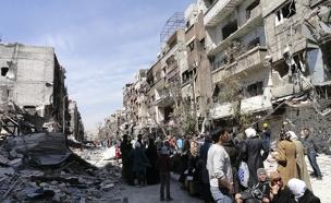 הלחימה בדמשק, ארכיון (צילום: רויטרס)