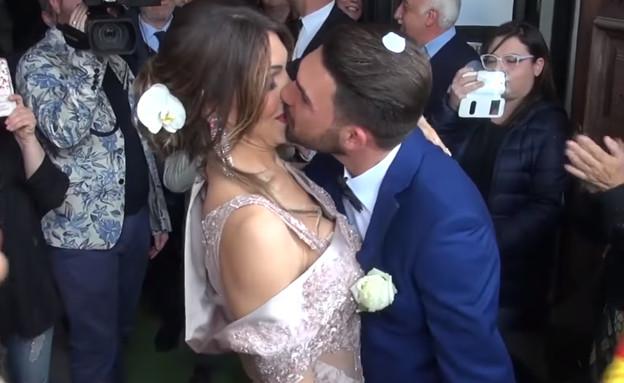 אלסיה ובעלה (צילום: מתוך יוטיוב)