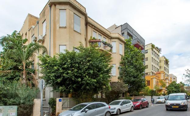 בתים מבפנים, דירה בבניין לשימור (צילום: יחסי ציבור)