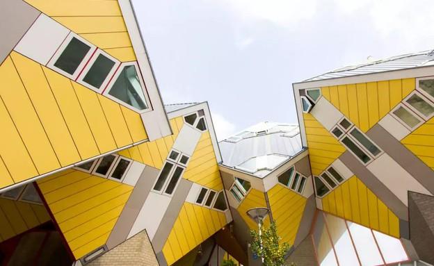 בית הקובייה ברוטרדם הולנדג (צילום: airbnb.com)