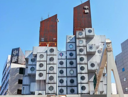 בית הקפסולות נאגאקין יפן3