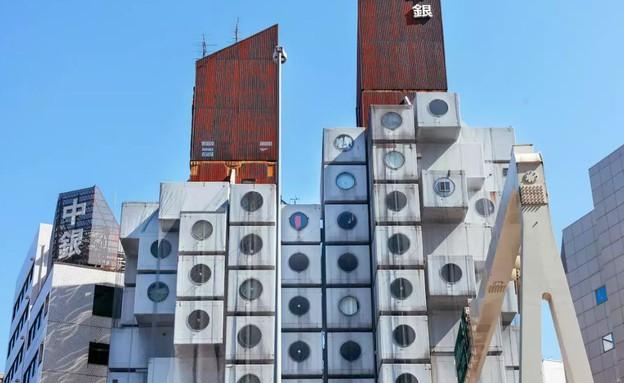 בית הקפסולות נאגאקין יפן3 (צילום: airbnb.com)