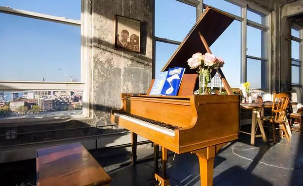 לופט אורבני בברוקלין ניו יורק 4 (צילום: airbnb.com)