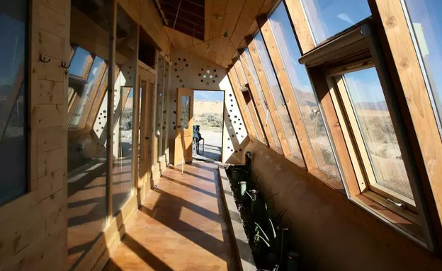 ספינת אדמה בניו מקסיקו  3 (צילום: airbnb.com)