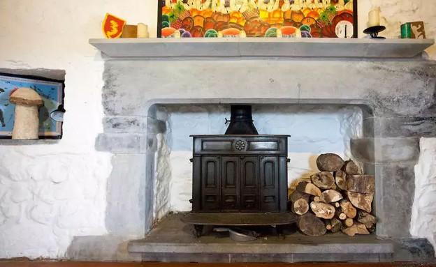 טירה מימי הביניים אירלנד 2 (צילום: airbnb.com)