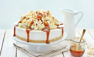 עוגת גלידה, מסקרפונה ומייפל (צילום: ענבל לביא)