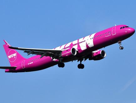wow air (צילום: יחסי ציבור)