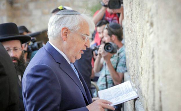 """שגריר ארה""""ב בישראל דיויד פרידמן (צילום: הלל מאיר/TPS)"""
