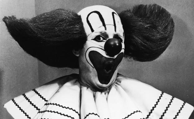 ליצן מפחיד (צילום: Hulton Archive, GettyImages IL)