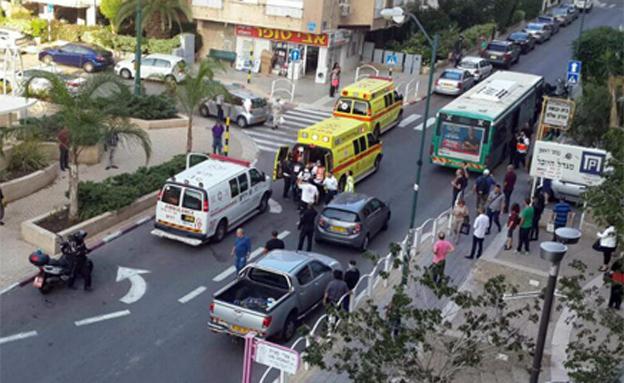זירת הפיגוע, נובמבר 2015 (צילום: איל אברמוב)